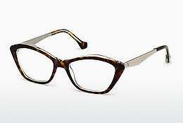 Óculos de design Balenciaga BA5040 053 - Havanna, Yellow, Blond, Brown