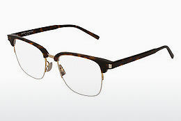 Óculos de design Saint Laurent SL 189 SLIM 002 - Castanho, Havanna