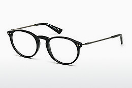 Óculos de design Web Eyewear WE5176 001 - Preto, Shiny
