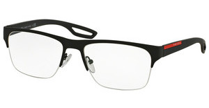 Prada Sport PS 55FV DG01O1 BLACK RUBBER
