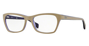 Ray-Ban RX5298 5387 TOP MATTE BEIGE ON TRASP VIOLE