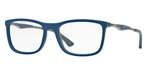 Ray-Ban RX7029 5260 TOP BLUE ON MATTE DARK GREY
