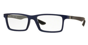 Ray-Ban RX8901 5611 TOP BLUE ON SHINY GREY