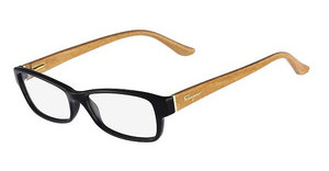 Salvatore Ferragamo SF2689 007 BLACK/LIGHT WOOD