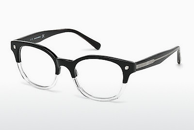 Óculos de design Dsquared DQ5180 003 - Preto, Transparent