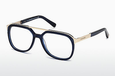 Óculos de design Dsquared DQ5190 090 - Azul, Shiny