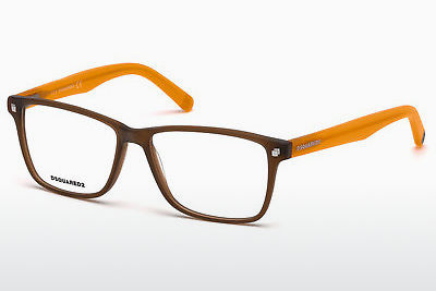 Óculos de design Dsquared DQ5201 045 - Castanho, Bright, Shiny