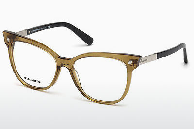 Óculos de design Dsquared DQ5214 045 - Castanho, Bright, Shiny