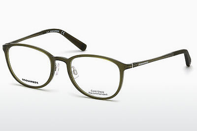 Óculos de design Dsquared DQ5220 093 - Verde, Bright, Shiny