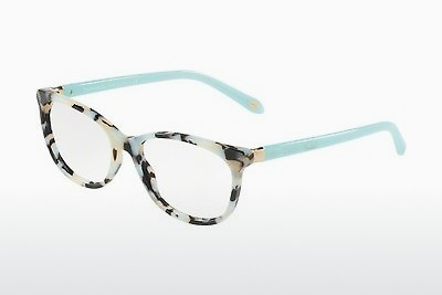 Óculos de design Tiffany TF2135 8213 - Branco, Havanna