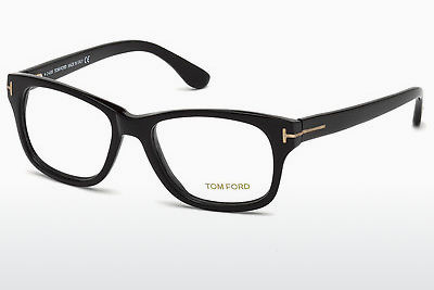 Óculos de design Tom Ford FT5147 001 - Preto, Shiny