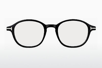 Óculos de design Tom Ford FT5150 001 - Preto, Shiny