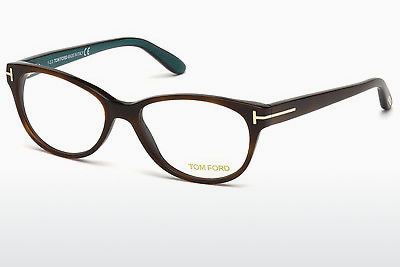Óculos de design Tom Ford FT5292 052 - Castanho, Dark, Havana