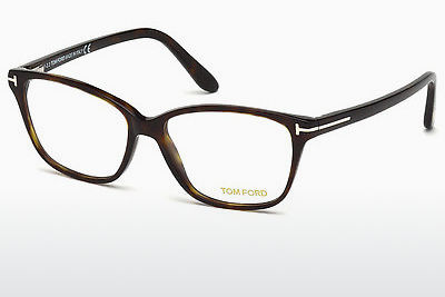 Óculos de design Tom Ford FT5293 052 - Castanho, Dark, Havana