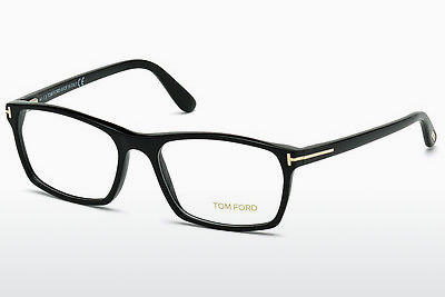 Óculos de design Tom Ford FT5295 001 - Preto, Shiny