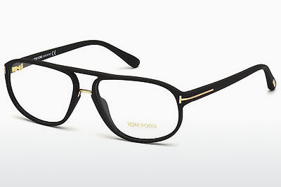 Óculos de design Tom Ford FT5296 002 - Preto, Matt
