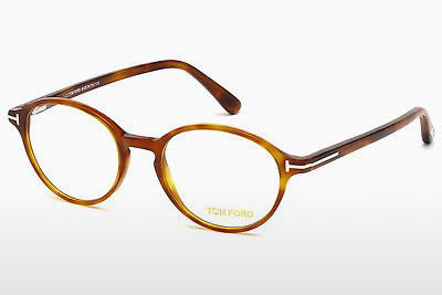 Óculos de design Tom Ford FT5305 053 - Havanna, Yellow, Blond, Brown