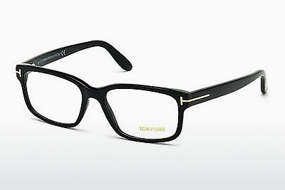 Óculos de design Tom Ford FT5313 001 - Preto, Shiny