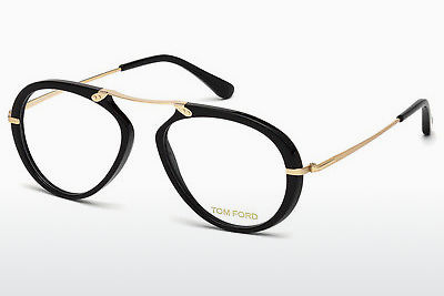 Óculos de design Tom Ford FT5346 001 - Preto, Shiny