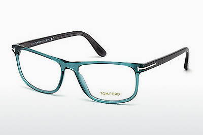 Óculos de design Tom Ford FT5356 087 - Azul, Turquoise, Shiny