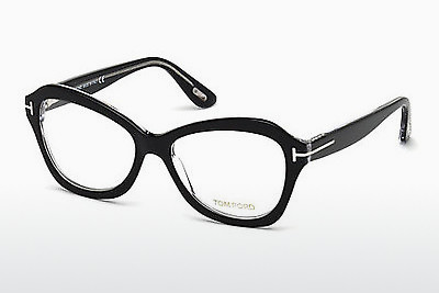 Óculos de design Tom Ford FT5359 003 - Preto, Transparent