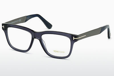 Óculos de design Tom Ford FT5372 090 - Azul, Shiny