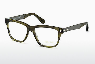 Óculos de design Tom Ford FT5372 098 - Verde, Dark