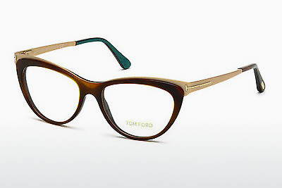 Óculos de design Tom Ford FT5373 052 - Castanho, Havanna