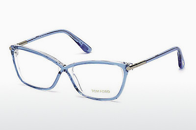 Óculos de design Tom Ford FT5375 086 - Azul, Azurblue