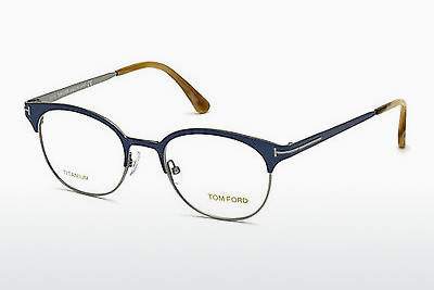 Óculos de design Tom Ford FT5382 090 - Azul
