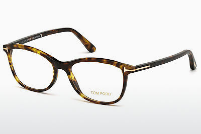 Óculos de design Tom Ford FT5388 052 - Castanho, Dark, Havana