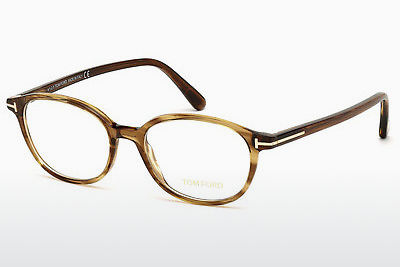 Óculos de design Tom Ford FT5391 048 - Castanho, Dark, Shiny