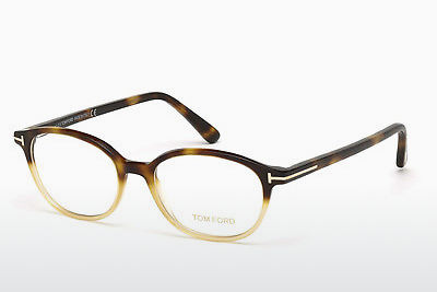 Óculos de design Tom Ford FT5391 053 - Havanna, Yellow, Blond, Brown