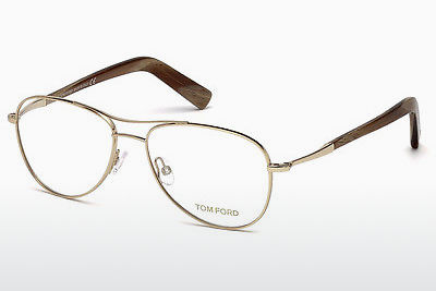 Óculos de design Tom Ford FT5396 028 - Dourado