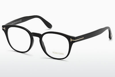 Óculos de design Tom Ford FT5400 001 - Preto, Shiny