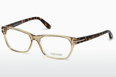 Óculos de design Tom Ford FT5405 045 - Castanho, Bright, Shiny