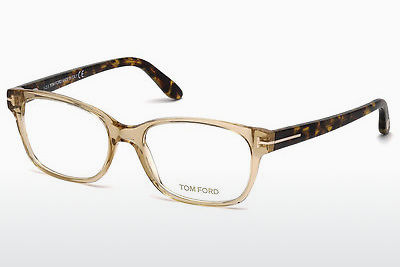 Óculos de design Tom Ford FT5406 045 - Castanho, Bright, Shiny