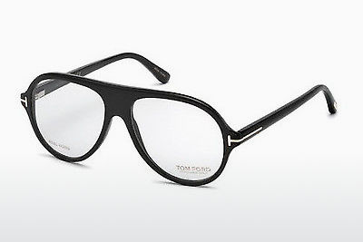 Óculos de design Tom Ford FT5437-P 63A - Castanho, Ivory, Black