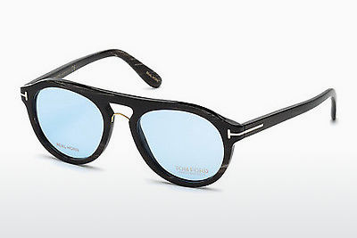 Óculos de design Tom Ford FT5438-P 62V - Castanho, Havanna