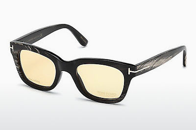 Óculos de design Tom Ford FT5439-P 62E - Castanho, Havanna