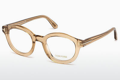 Óculos de design Tom Ford FT5460 045 - Castanho, Bright, Shiny