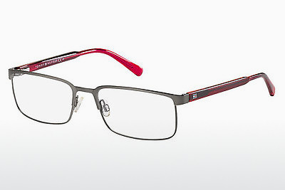 Óculos de design Tommy Hilfiger TH 1235 GCO - Prateado, Ruthenium