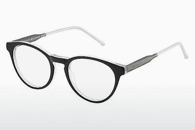 Óculos de design Tommy Hilfiger TH 1393 QRC - Blackgrey
