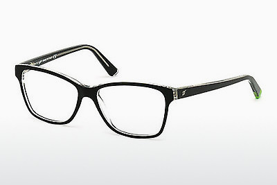 Óculos de design Web Eyewear WE5182 003 - Preto, Transparent
