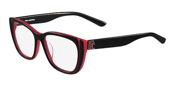 Karl Lagerfeld KL914 001 BLACK RED