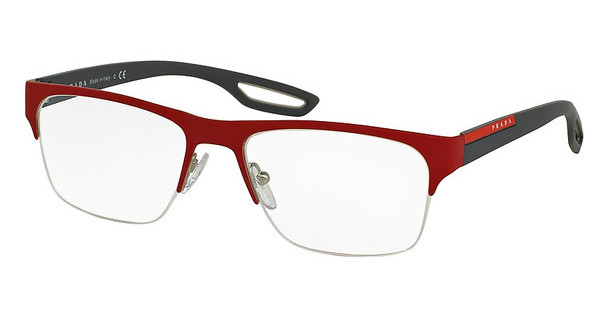 Prada Sport PS 55FV UAB1O1 TOP RED RUBBER ON STEEL