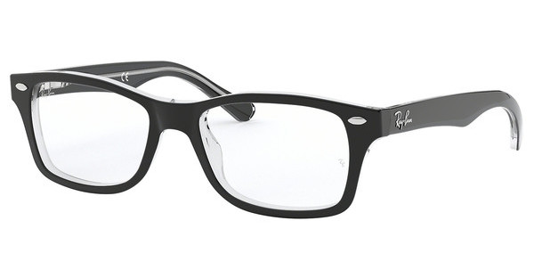 Ray-Ban Junior RY1531 3529 TOP BLACK ON TRANSPARENT