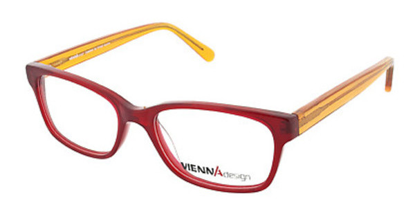 Vienna Design UN551 03 x'tal red/x'tal orange