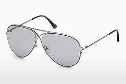 Óculos de marca Tom Ford Tom N.4 (FT0488-P 14C) - Cinzento, Shiny, Bright