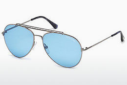 Óculos de marca Tom Ford Indiana (FT0497 14V) - Cinzento, Shiny, Bright
